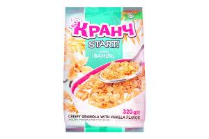 Гранола хрустка з ароматом ванілі Кранч Start! м/у 320г