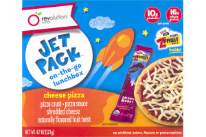 Revolution Foods Jet Pack Cheese Pizza