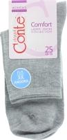 CONTE Шкарпетки жіночі Comfort 14С-114СП р.25 000 сірий