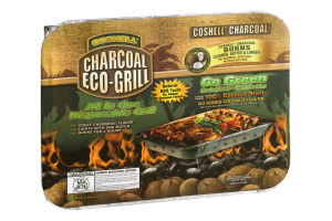 Coshell Charcoal Eco-Grill Disposable