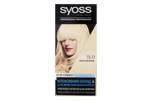Освітлювач для волосся Інтенсивний блонд Professinal performance №13-0 Syoss 1шт