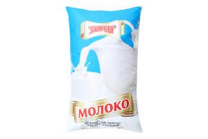Молоко 2.5% пастеризованное Злагода м/у 910г