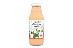 Молоко соєве Абрикос Зелена корова с/б 300мл