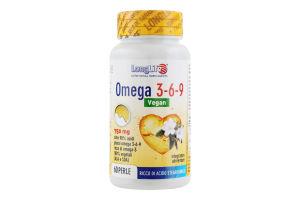 Добавка диет Long Life Omega 3-6-9 Vegan