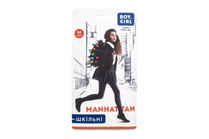 Колготи дитячі Boy&Girl Manhattan 50den 128-134 brown