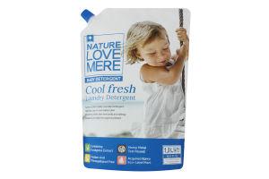 Гель для стирки детской одежды Cool Fresh NatureLoveMere 1.3л