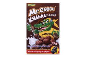 Сухий сніданок Кульки з какао Mr. Croco к/у 75г