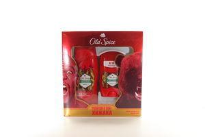 Набір подарунковий Old Spice Твердий дезодорант Bearglove 50мл+Гель длядушу Bearglove 250мл