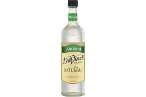 DaVinci Gourmet Naturals Almond Syrup