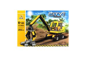 Іграшка City ET конструктор Будівельна техніка арт.SM809 х6