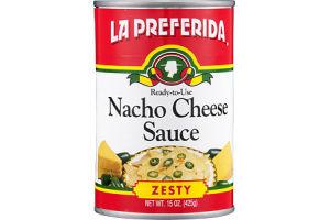 La Preferida Nacho Cheese Sauce Zesty