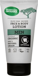 Лосьйон Urtekram Men Organic д/обличчя алое/баобаб 150мл