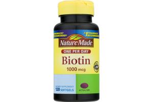 Nature Made Biotin - 120 CT
