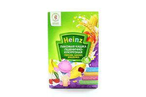Каша Heinz пшеночно-кукурудзяна з фруктами 200г