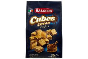 BALLOCO ВАФ CUBES З КАКАО 250Г