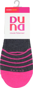 Шкарпетки жіночі Color your day Duna темно-сірі 23-25