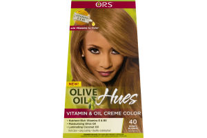 ORS Olive Oil Hues Vitamin & Oil Creme Color 40 Honey Blonde