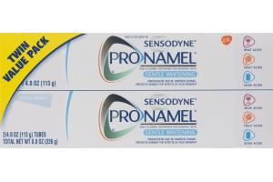 Sensodyne Pronamel Gentle Whitening Toothpaste Alpine Breeze Twin Value Pack - 2 PK