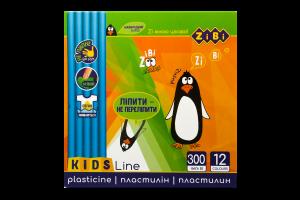 Пластилин ZiBi со стеком 12цв 6211