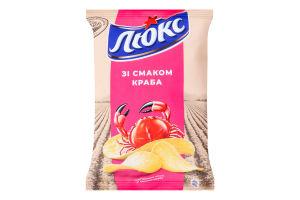 Чипсы картофельные Краб Люкс м/у 133г