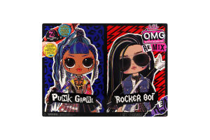 Н-р игровой L.O.L.Surprise OMG Remix Дуэт 2 куклы