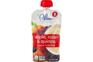 Plum Organics Apple, Raisin & Quinoa Organic Baby Food
