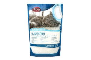 Наполнитель для туалета силикагелевый в гранулах для котов Simple'n'Clean Trixie 2.2кг