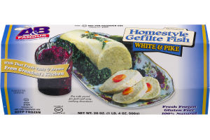 A & B Famous Homestyle Gefilte Fish White & Pike