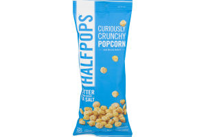 Halfpops Curiously Crunchy Popcorn Butter & Pure Ocean Sea Salt