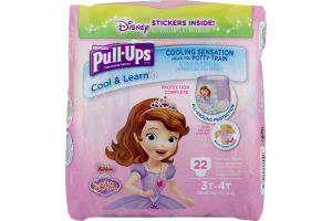 Huggies Pull-Ups Training Pants Cool & Learn 3T-4T - 22 CT
