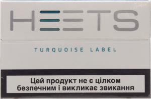 Изделие табачное д/электр нагр Heets Torquoise