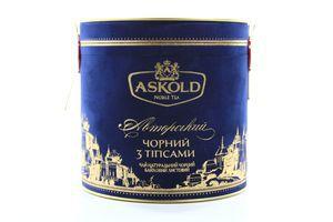 Чай черный листовой с типсами Авторский Askold ж/б 80г