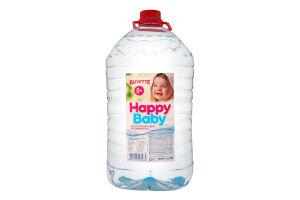 Вода питна для дітей від народження негазована Happy Baby Buvette п/пл 5л