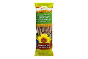Печиво здобне з насінням соняшнику та кунжуту з пророщених зерен пшениці Хрумтик Росток м/у 250г