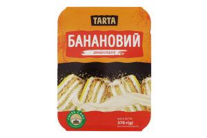 Торт бісквітний Банановий Tarta п/у 370г