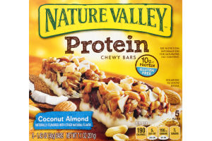 Nature Valley Protein Chewy Bars Coconut Almond - 5 CT