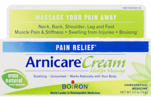 Arnicare Cream Pain Relief Homeopathic Medicine