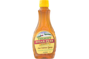 Vermont Sugar Free Low Calorie Syrup Butter Flavor