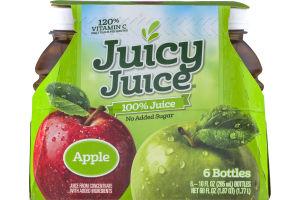 Juicy Juice 100% Juice Apple - 6 CT