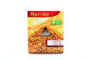 Сахар коричневый кофейный Milford к/у 300г