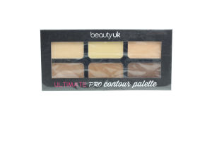 Beauty UK палета для обличчя контурна Pro Contour Palette