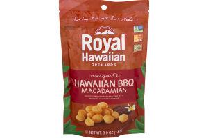 Royal Hawaiian Orchards Hawaiian Macadamias Mesquite BBQ