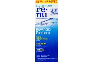Bausch + Lomb Re-Nu Multi-Purpose Solution Advanced Formula