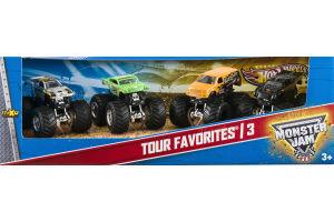 Hot Wheels Monster Jam Tour Favorites 3