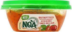 Паштет рослинний Хумус з томатами та базиліком NOA п/у 175г