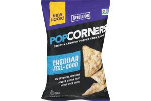 PopCorners Popped Corn Chips Cheddar Feel-Good