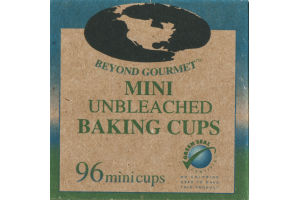 Beyond Gourmet Mini Unbleached Baking Cups - 96 CT