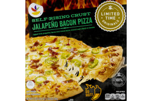 Ahold Self-Rising Crust Pizza Jalapeno Bacon