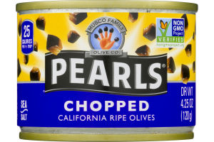 Pearls Chopped California Ripe Olives