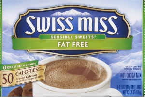 Swiss Miss Sensible Sweets Fat Free Hot Cocoa Mix - 8 CT